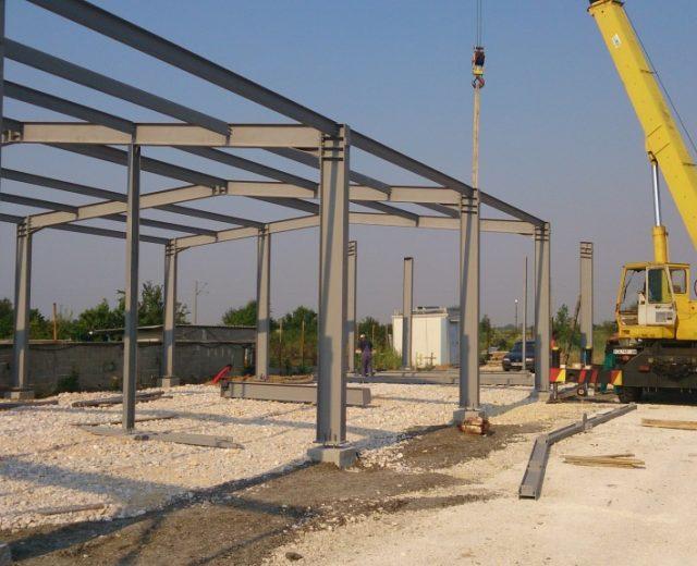Производство, доставка и монтаж на метална конструкция
