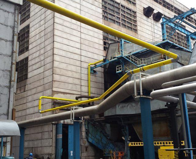 ТЕЦ Марица Изток 2 - газоразпределителна инсталация