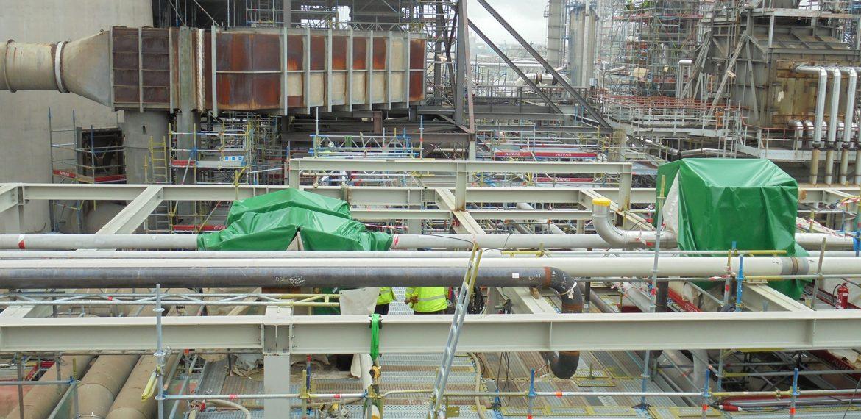 Разширение на рафинерия на Exxon Mobil, гр. Антверпен, Белгия
