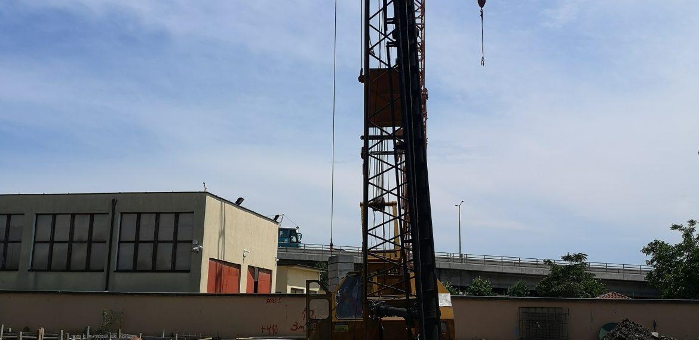 """Pile foundation Duganov Administrative Building – North Industrial zone of Burgas """